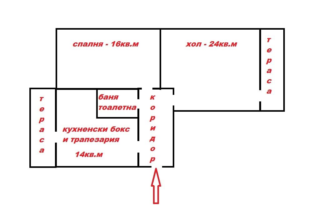Мол Варна, 3-стаен